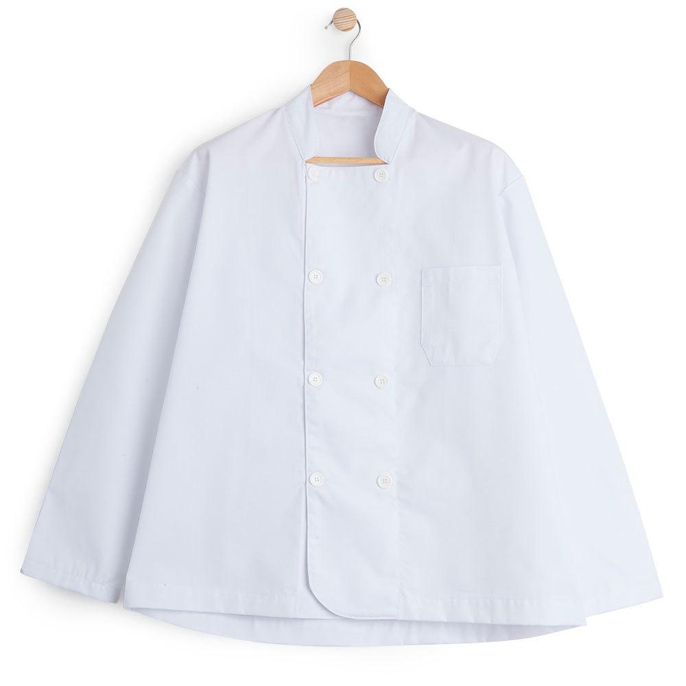 Chaqueta hostelería manga larga blanca