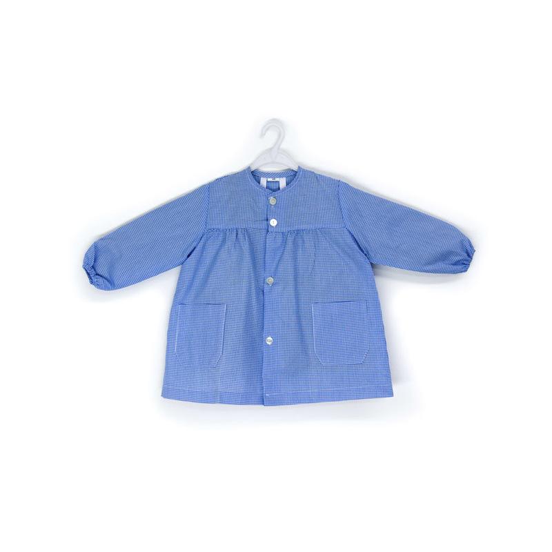 Mandilón modelo Mora,cuadro azulina