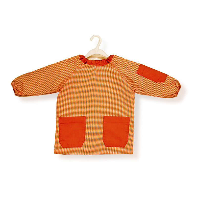 Mandilón saco Pomelo,cuadro naranja básico