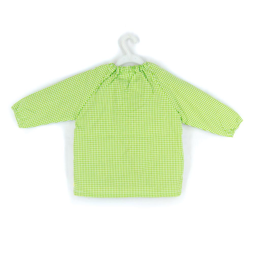 Mandilil%c3%b3n modelo saco globos verde pistacho trasero