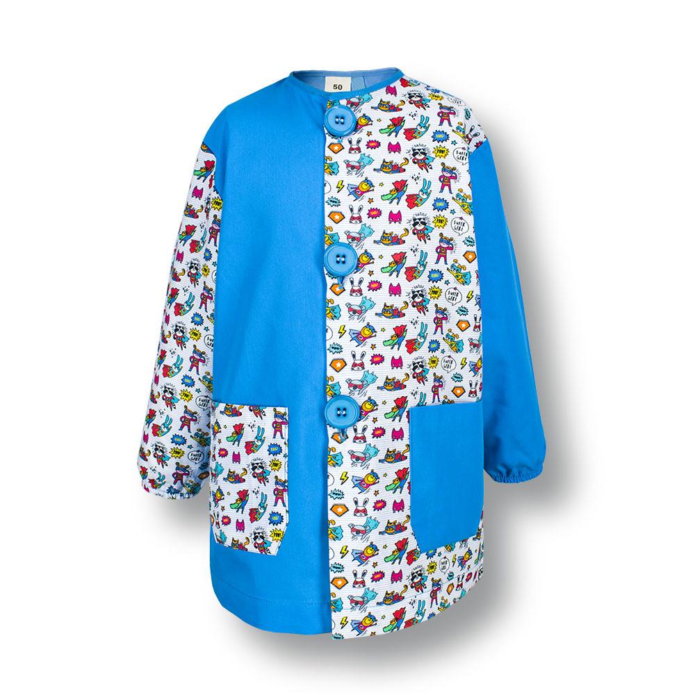 Bata escolar mod. boreal azul turquesa   supergirl.con fondo